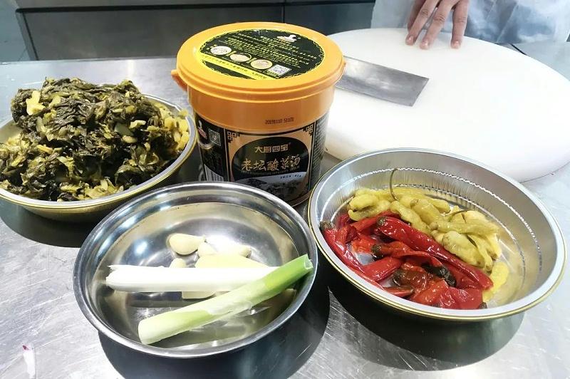 老坛酸菜酱调料