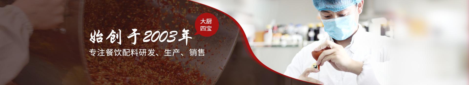 大厨四宝 专注餐饮配料研发生产销售